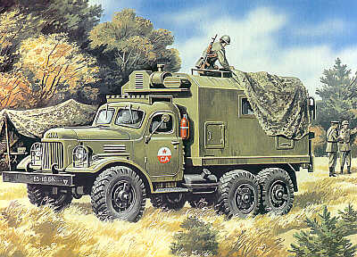 ZiL-157 Command Vehicle 1/72