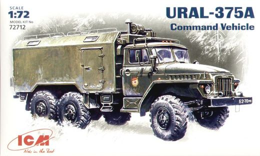 Ural 375A Command Vehicle 1/72