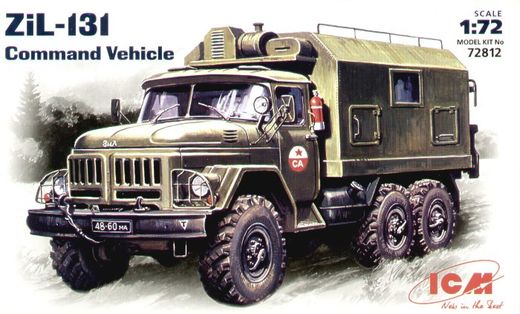 ZiL-131 Command Vehicle 1/72