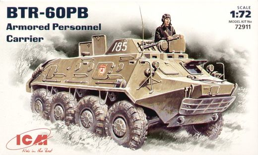 BTR-60PB Armoured Personnel Carrier 1/72