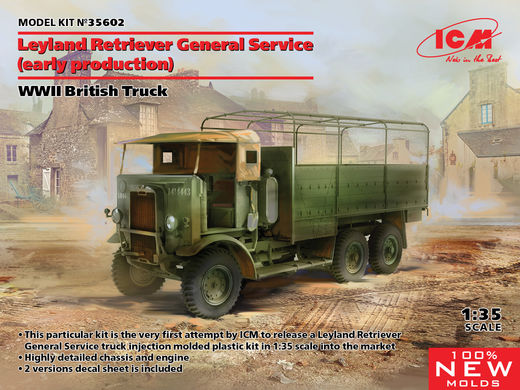 Leyland Retriever General Service (early production) - WWII British Truck 1/35
