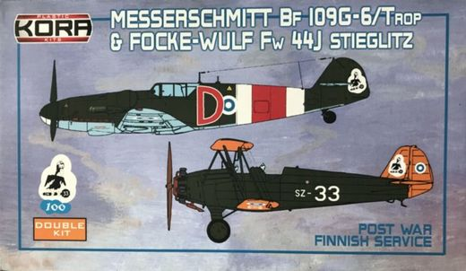 "Me-109G-6 and FW 44J Stieglitz ""Post-War"" SUOMI 1/72"