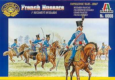 French Hussars I Regiment 1815 1/72