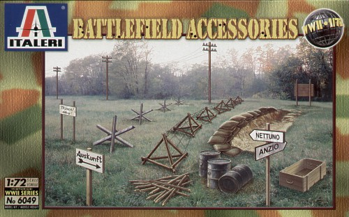 Battlefield accessories WW2 1/72