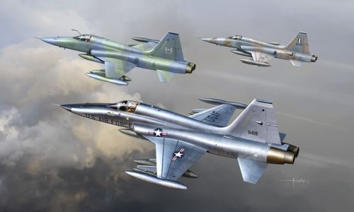Northrop F-5A/CF-5A/NF-5A Freedom Fighter 1/48