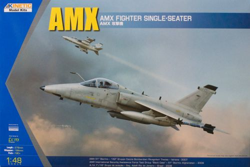 AMX International ground-attack aircraft 1/48