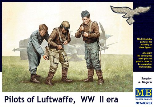 Pilots of Luftwaffe WWII 1/32
