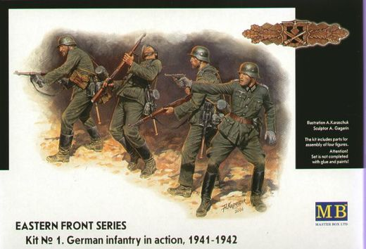 German Infantry 1941-42 Eastern front