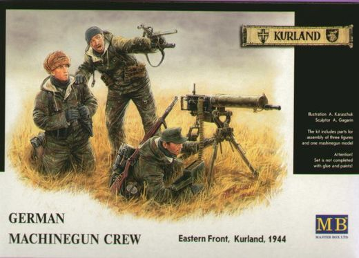 German machine gunners, Eastern front 1944