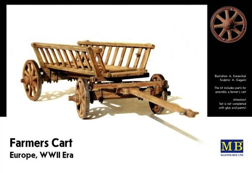 Farmers Cart, Europe WW2