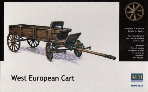 West European Farmer´s Cart 1/35
