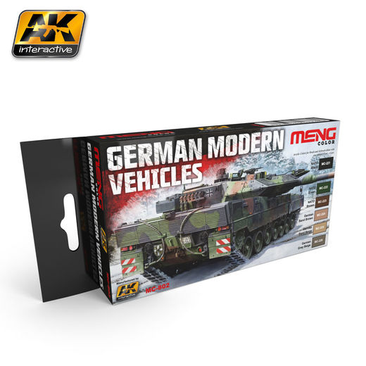 GERMAN MODERN VEHICLES COLORS SET - AKRYYLI