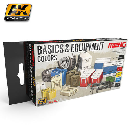 BASICS & EQUIPMENT COLORS - AKRYYLI