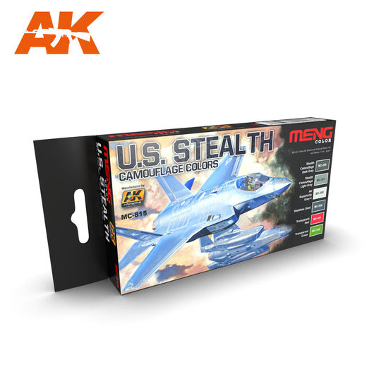 U.S. STEALTH CAMOUFLAGES COLORS - AKRYYLI