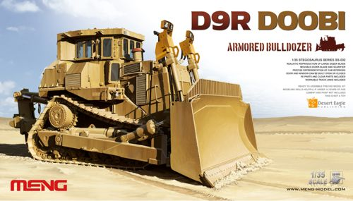 Caterpillar D9R Doobi armoured bulldozer 1/35