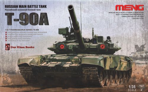 Russian T-90A Main Battle Tank  1/35