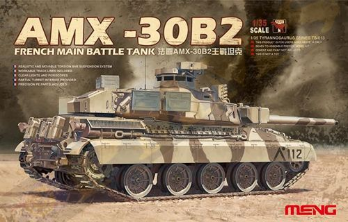 French tank AMX-30B2 1/35
