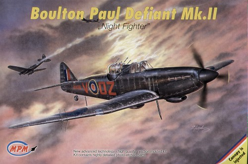 Boulton-Paul Defiant NF.II Night fighter 1/72