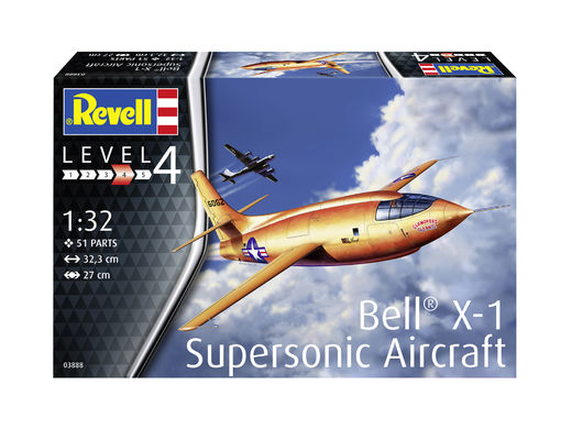 Bell X-1 Supersonic Aircraft 1/32