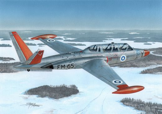 Fouga CM.170 Magister SUOMI, Germany, Austria 1/72
