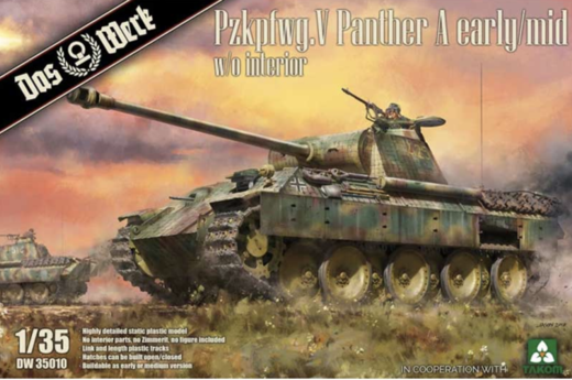 1/35 PzKpfw.V Panther A Early/Mid w/o interior