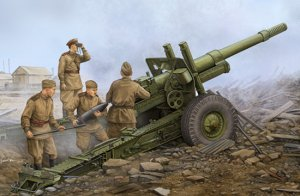 Soviet ML-20 152mm Howitzer with M-46 Carriage 1/35