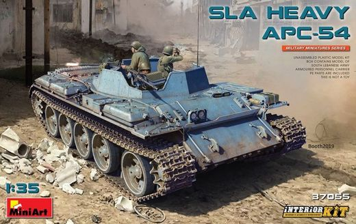 SLA HEAVY APC-54. INTERIOR KIT 1/35