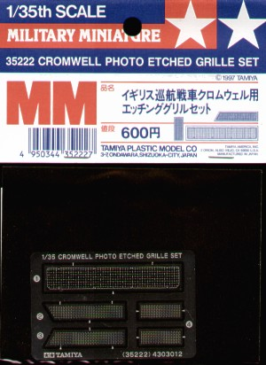 Cromwell Mk.IV Photoetched Grille 1/35