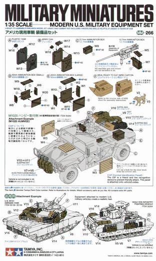 US MILITARY EQUIP. MODERN 1/35