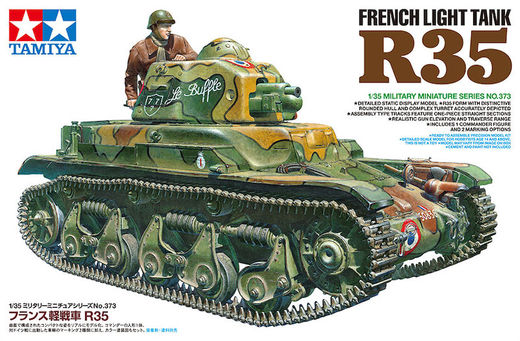 French light tank R35 1/35