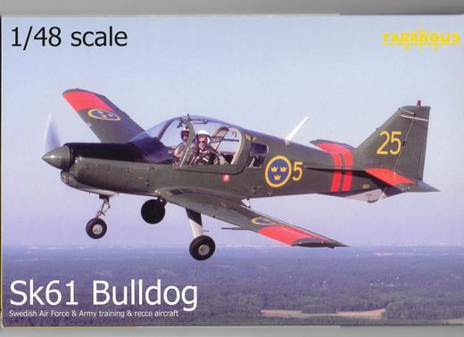 Scottish-Aviation Bulldog Sk 61 Sverige 1/48