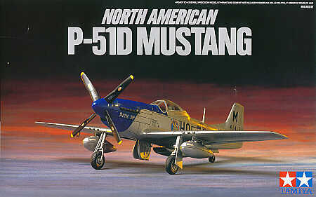 North-American P-51D Mustang (with standard and Dallas canopy) 1/72