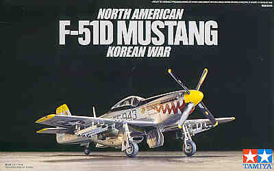 North-American F-51D Mustang Korean War [P-51D] 1/72