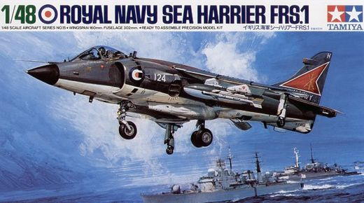 Royal Navy Sea Harrier FRS.1 1/48