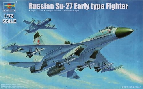 Sukhoi SU-27 Flanker Early 1/72