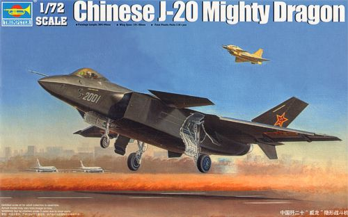 Chinese Chengdu J-20 fighter 1/72