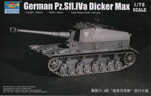 German Pz.Sfl.IVa Dicker Max 1/72