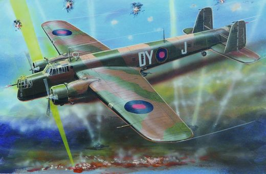 Armstrong Whitworth Whitley Mk III 1/72