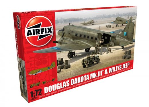 Douglas Dakota Mk.III RAF & Willys Jeep 1/72