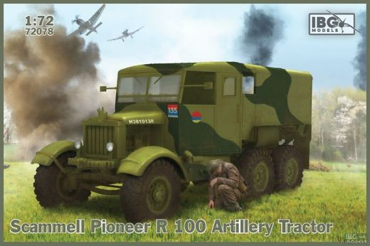 Scammell Pioneer R100 Artillery Tractor 1/72