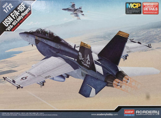 "Boeing F/A-18F Super Hornet ""VFA-103 Jolly Rogers"" 1/72"