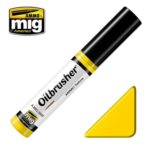 AMMO YELLOW OILBRUSHER