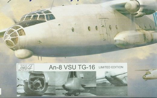 Antonov An-8 (with VSU TG-16 APU) 1/72