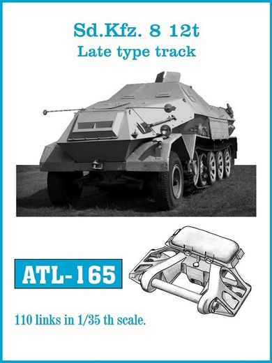 Sdkfz 8 12t late type tracks 1/35