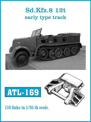 Sd.Kfz. 8 12t early type tracks 1/35