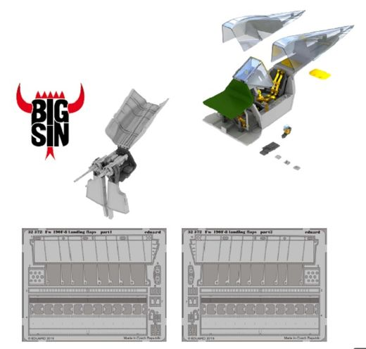 Focke-Wulf FW 190F-8 details (Part 1) for Revell 1/32