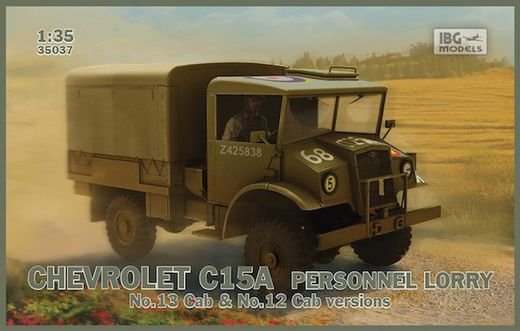 Chevrolet C15A Personnel Lorry (Cabs 12 and 13) 1/35