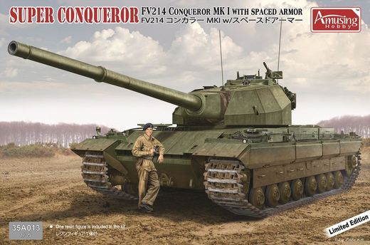 Super Conqueror FV 214 (with spaced armour)  (project) 1/35