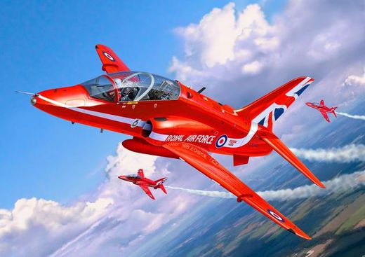 BAe Hawk T.1 Red Arrows UUSI MUOTTI 1/72