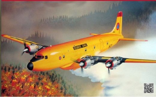 Douglas DC-6 Securite Civile France 1/72